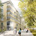 Architekturentwurf Wohnhaus und Geschäftshaus Dresden Fetscherstraße