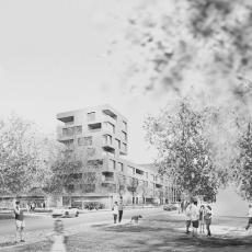 Architektur Rendering Dresden Mickten