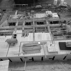 Baustelle Mehrfamilienhaus an der Galopprennbahn Dresden